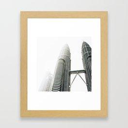 Two Tall. Framed Art Print