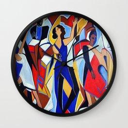 Loco Caliente Wall Clock