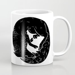 black and white thoughts Coffee Mug
