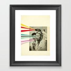 Communicator Framed Art Print
