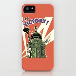 Daleks To Victory - Doctor Who iPhone Case