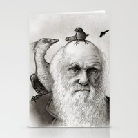 darwin Stationery Cards featuring Darwin by Doodle of Boredom