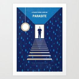 No1158 My Parasite minimal movie poster Art Print