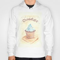 chocolate Hoodies featuring Chocolate by YeesArts