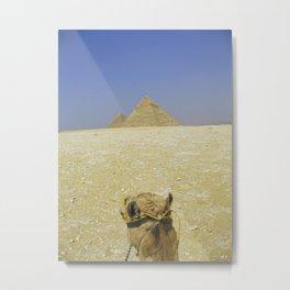 Pyramid View Metal Print