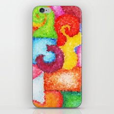Shapes- Cubist Style iPhone Skin