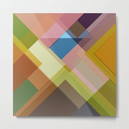 Abstract Composition 634 Metal Print