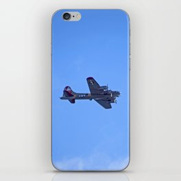 """B-17 - #38"" with poem: God's Busy iPhone Skin"