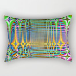 cooled server farm Rectangular Pillow
