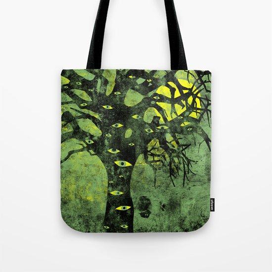 the Vision Tree (green) Tote Bag