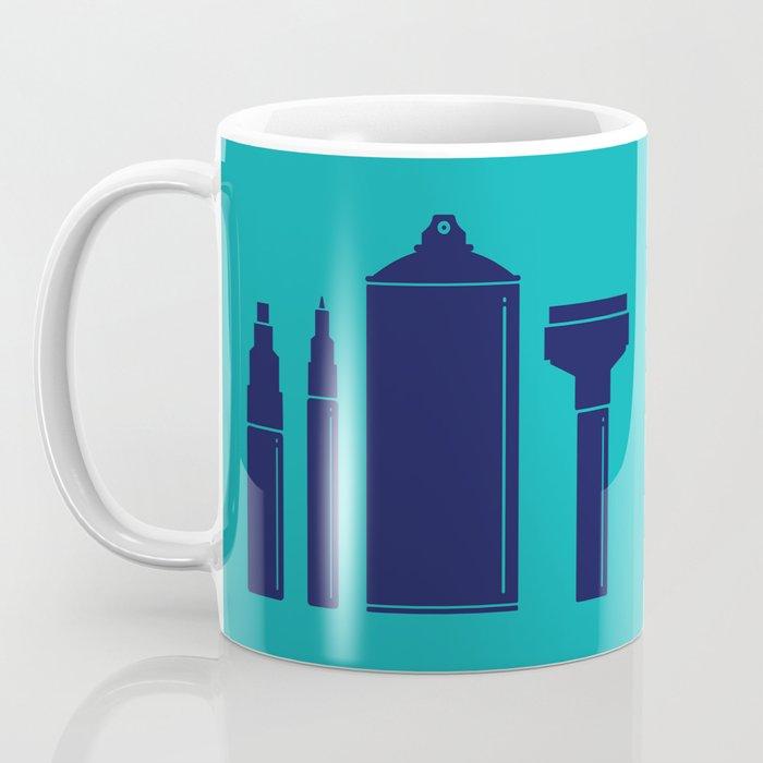 Art Supplies Coffee Mug