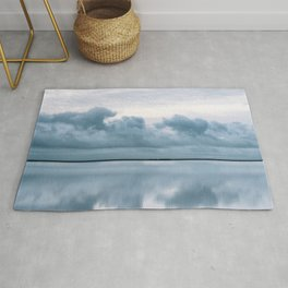 Epic Sky reflection in Iceland - Landscape Photography Rug