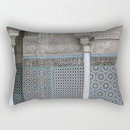 Marocco Columns Mosaic Rectangular Pillow