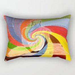 Serenity of Buddha Rectangular Pillow