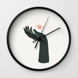 share your vision Wall Clock