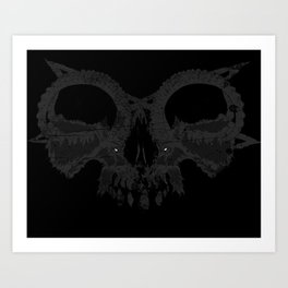 Death's Illusion Art Print