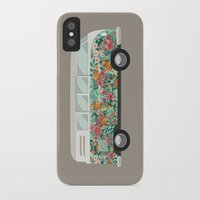 hippie iPhone & iPod Cases featuring Hippie van by eARTh