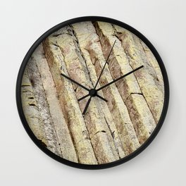 The Ladder on Devils Tower Wall Clock