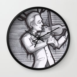 Hannibal - Violinist Wall Clock
