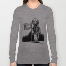 one small step for a squirrel, one giant leap for frank... Long Sleeve T-shirt