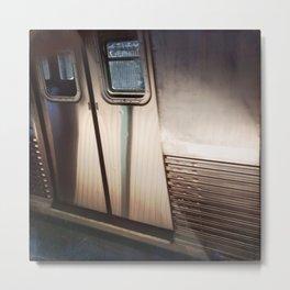 Subway Door Metal Print