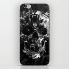 Kingdom Skull B&W iPhone & iPod Skin