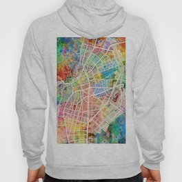 Cali Colombia City Map Hoody