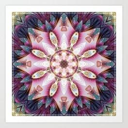 Mandalas from the Voice of Eternity 13 Art Print
