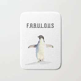 Fabulous Penguin Bath Mat