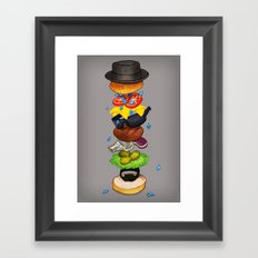 Heisenberger Framed Art Print