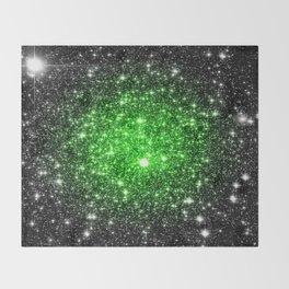 galAxy. Stars Lime Green Throw Blanket