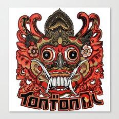Barong tontonal design Canvas Print