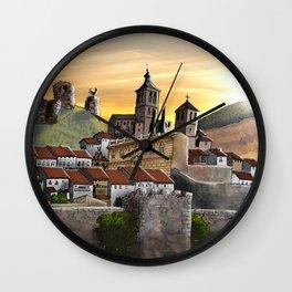 Cogolludo Sunrise Wall Clock