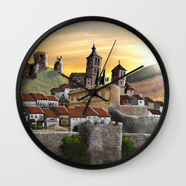 Cogolludo Sunrise Wall Clock