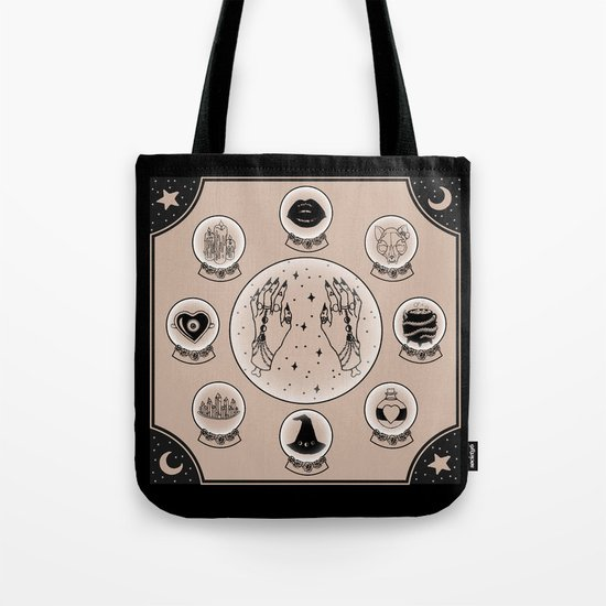 Witch Accessories Tote Bag