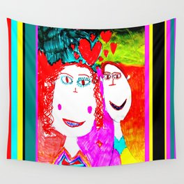 LOVE iN CHiLDHOOD Wall Tapestry