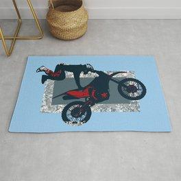 Flying Freestyle Moto-x Champ Rug
