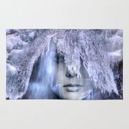 Iceberg girl Rug