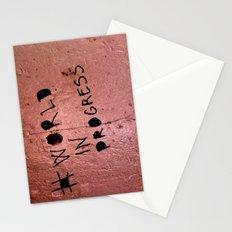 World In Progress Stationery Cards