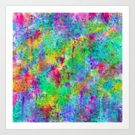Watercolor Experiment Art Print