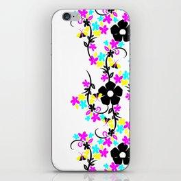 Flowers in CYM iPhone Skin