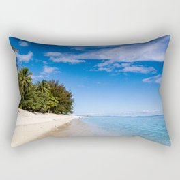 Beach Day- Cook Islands Rectangular Pillow