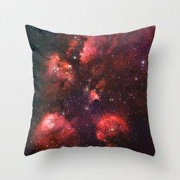 The Cat's Paw Nebula Throw Pillow