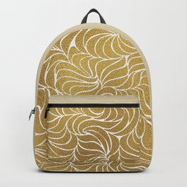 Currents - Gold Backpack