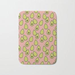 Avocados on Repeat Peachy Bath Mat