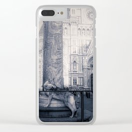 Bourgeoisie and Liberty Clear iPhone Case