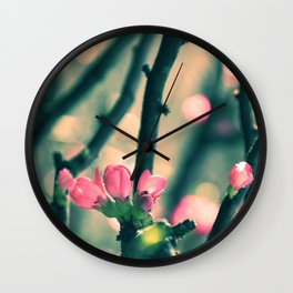 Early Spring Affaire Wall Clock