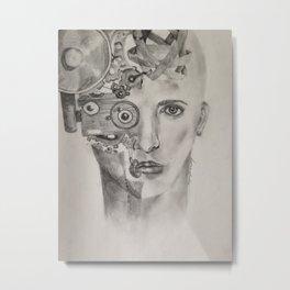 Dea ex Machina Metal Print