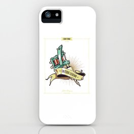Cartel Leyenda Tatuaje iPhone Case