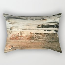 Study in Red Iron Oxide / Mars Mirage Rectangular Pillow